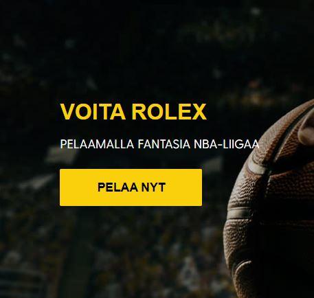 Bethard ja Rolex 8000 euroa